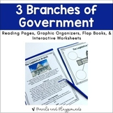 3 Branches of Government Activity Bundle
