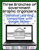 3 Branches of Government Graphic Organizers - Google Slides™ - Distance Learning