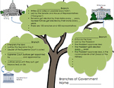 3 Branches of Government Interactive Worksheet