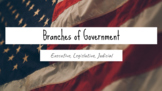 3 Branches of Government Lessons