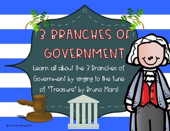 Constitution Day 3 Branches of Government Song Lyrics