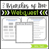 3 Branches of Government Webquest