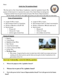 3 Branches of Government Worksheets