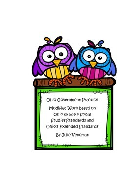 3 Branches of State Government Ohio