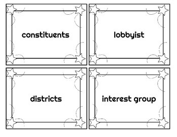 3 Branches of US Government Vocabulary Sort
