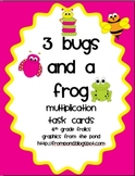 3 Bugs and a Frog