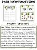 3-Card Money Matching Game