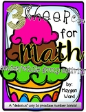 3 Cheers for Math! {center/whole class activity}