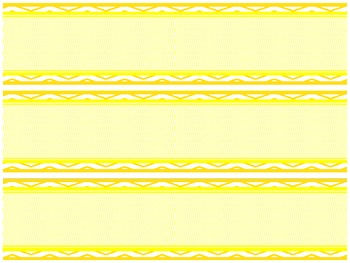 3 Chevron Bulletin Board Boarders- Primary Colors Pack