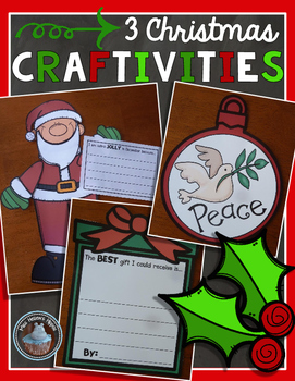 3 Christmas Craftivities