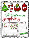 3 Christmas Graphing activites / / / Kindergarten