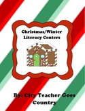 3 Christmas/Winter Literacy Centers - 3rd grade