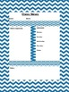4 Editable Classroom Newsletter Templates Completed (Zebra