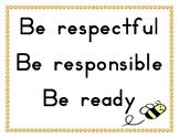3 Classroom Rules
