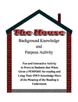 Author's Purpose Background Knowledge Lesson THE HOUSE Fun Synthesizing Activity