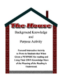 3 Complete Lesson Plan Plus Handouts for THE HOUSE