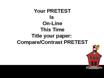 Complete PowerPoint Teacher Lesson for Compare and Contrast