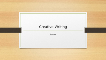 3 Creative Writing Warm Ups
