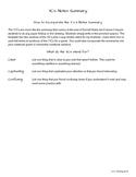 3 C's Notes Summary