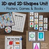 3D and 2D Shapes Unit