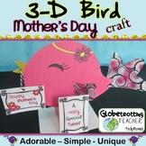 Mother's Day Craft 3-D Bird Activity