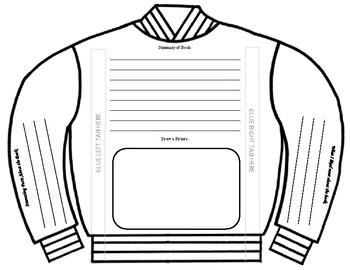 3-D Book Report Jacket
