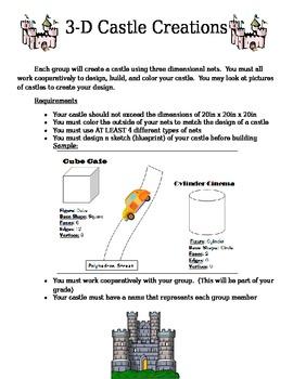 3-D Castle Creation