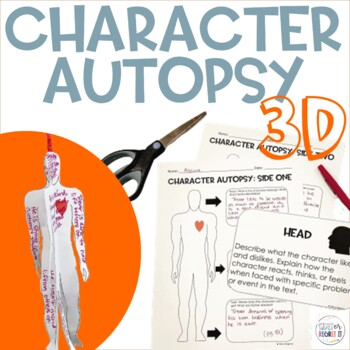 3-D Character Autopsy to Use With Any Text