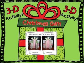 3-D Christmas Gift