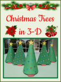 3-D Christmas Trees Mystery Picture