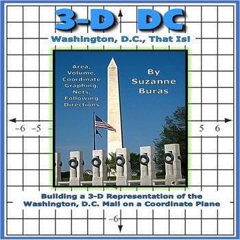 3-D  D.C.: Washington, D.C. on a Coordinate Plane