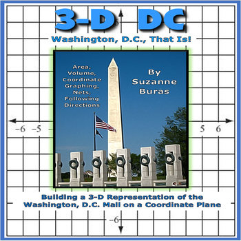 Building a 3-D Washington, D.C., City on a Coordinate Plane