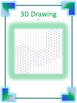 3-D Drawing using Isometric dot paper