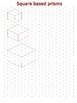 3-D Drawing using Isometric dot paper (packet 2)