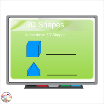 3D Shapes Smartboard Activity