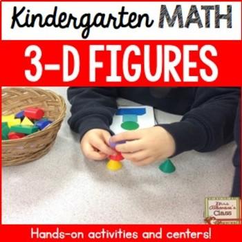 3-D Figures {Hands-On Games and Activities}