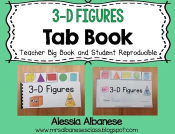 3-D Figures Tab Book