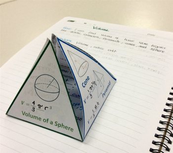3-D Foldable Volume