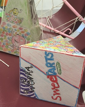 3-D Geometry Project ~ Volume and Surface Area ~ Candy Container