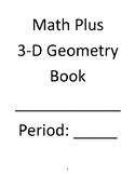 3-D Geometry Unit Book