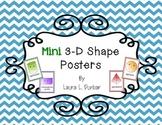 3-D Mini Posters