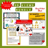 3-D Model Bundle:  5 Activities for Stations or Choice Boa