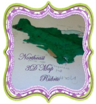 3-D Northeast Map Rubric