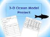 3-D Ocean Model Project
