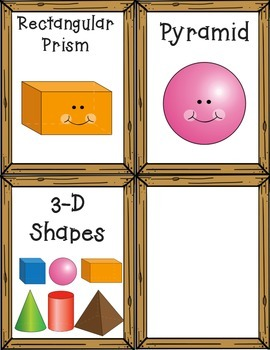 3-D Pirate Shapes