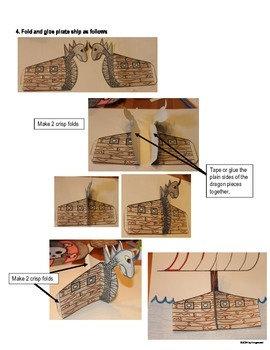 3-D Pirate Story Template and Story Planner