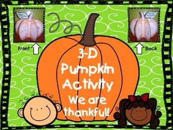 3-D Pumpkin