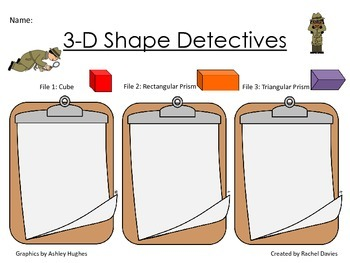 3-D Shape Detectives