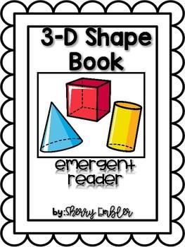 3-D Shape Emergent Reader Book