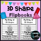 3-D Shape Flip Book with Worksheets